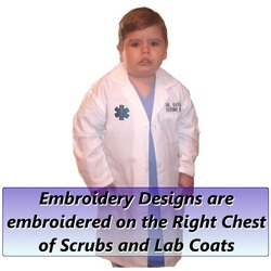 Personalized Kids Doctor Costumes